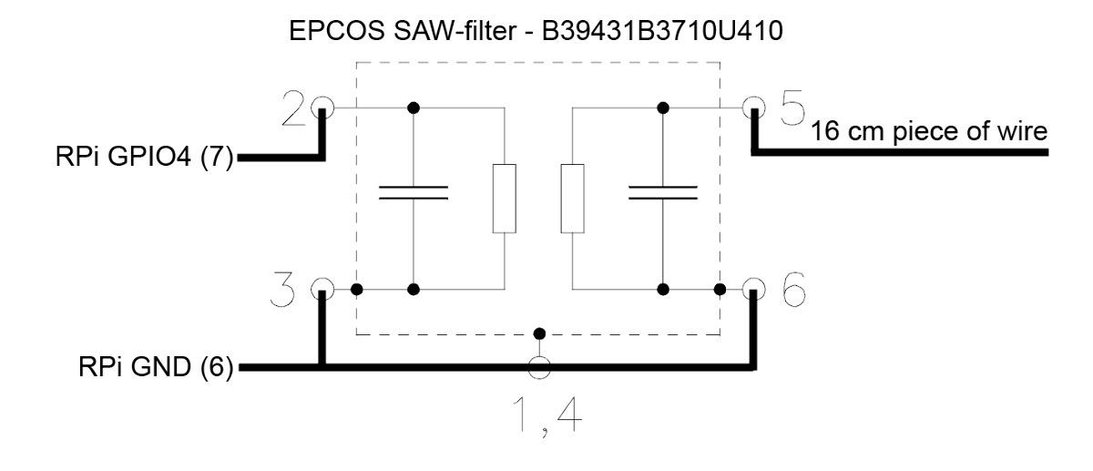 skagmo com - PiHAT - Rasberry Pi Home Automation Transmitter